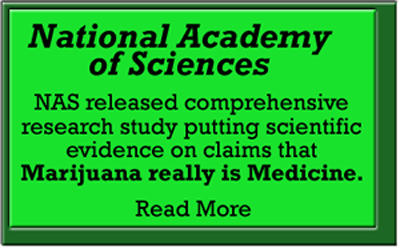 National Academy of Sciences study Marijuana is Medicine Jan 12, 2017